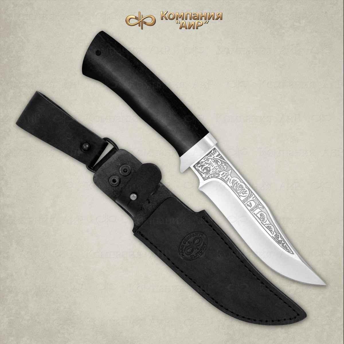 Нож Клычок-1, граб, сталь 110х18 М-ШД