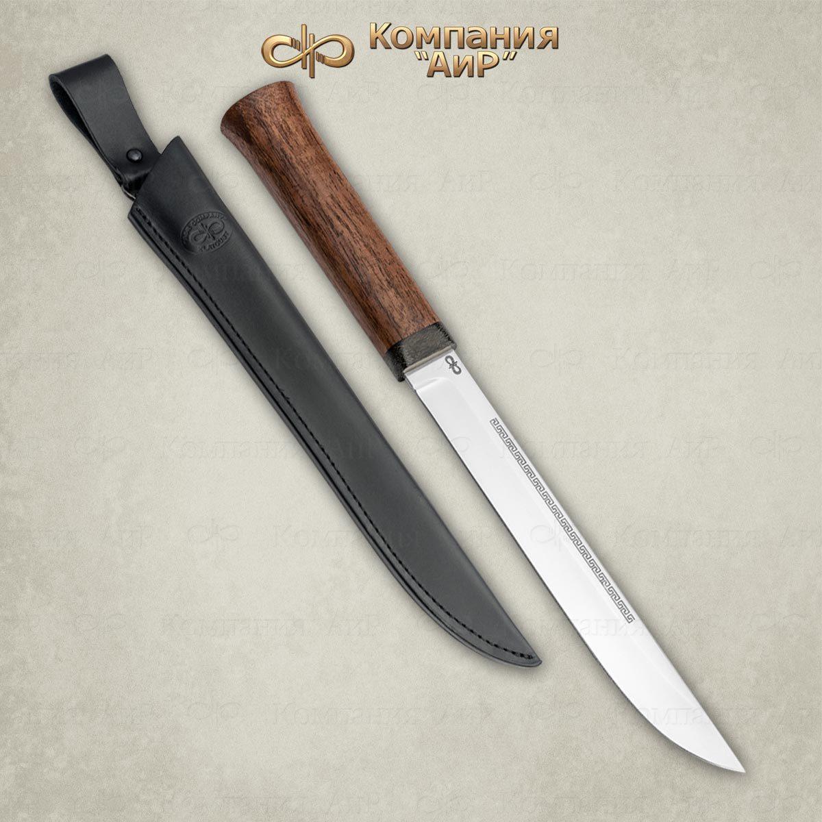 Нож АиР Бурятский средний,сталь 95х18, рукоять дерево