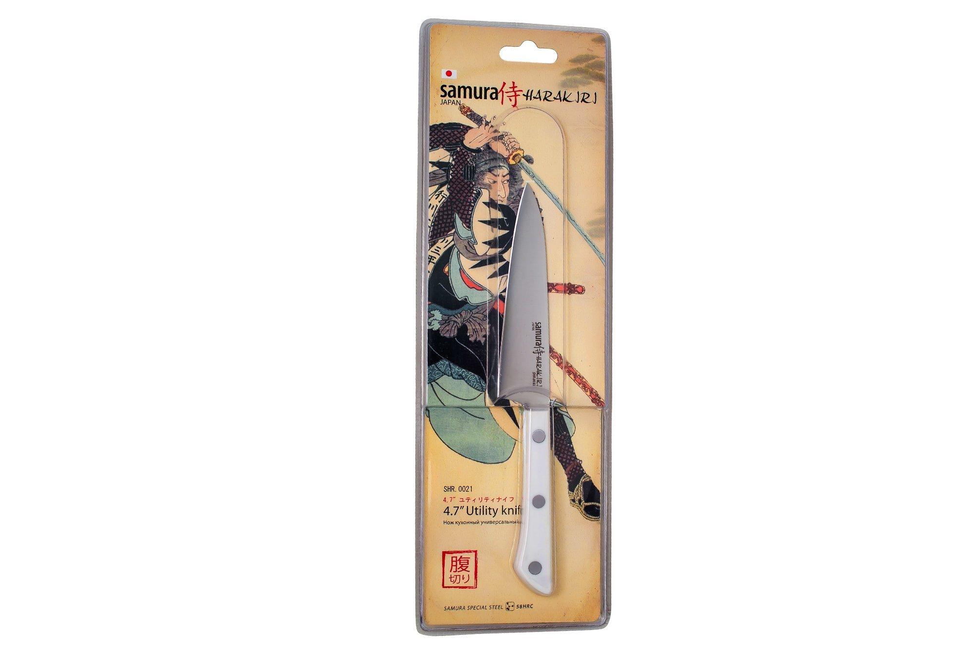 Фото 6 - Нож кухонный универсальный Samura