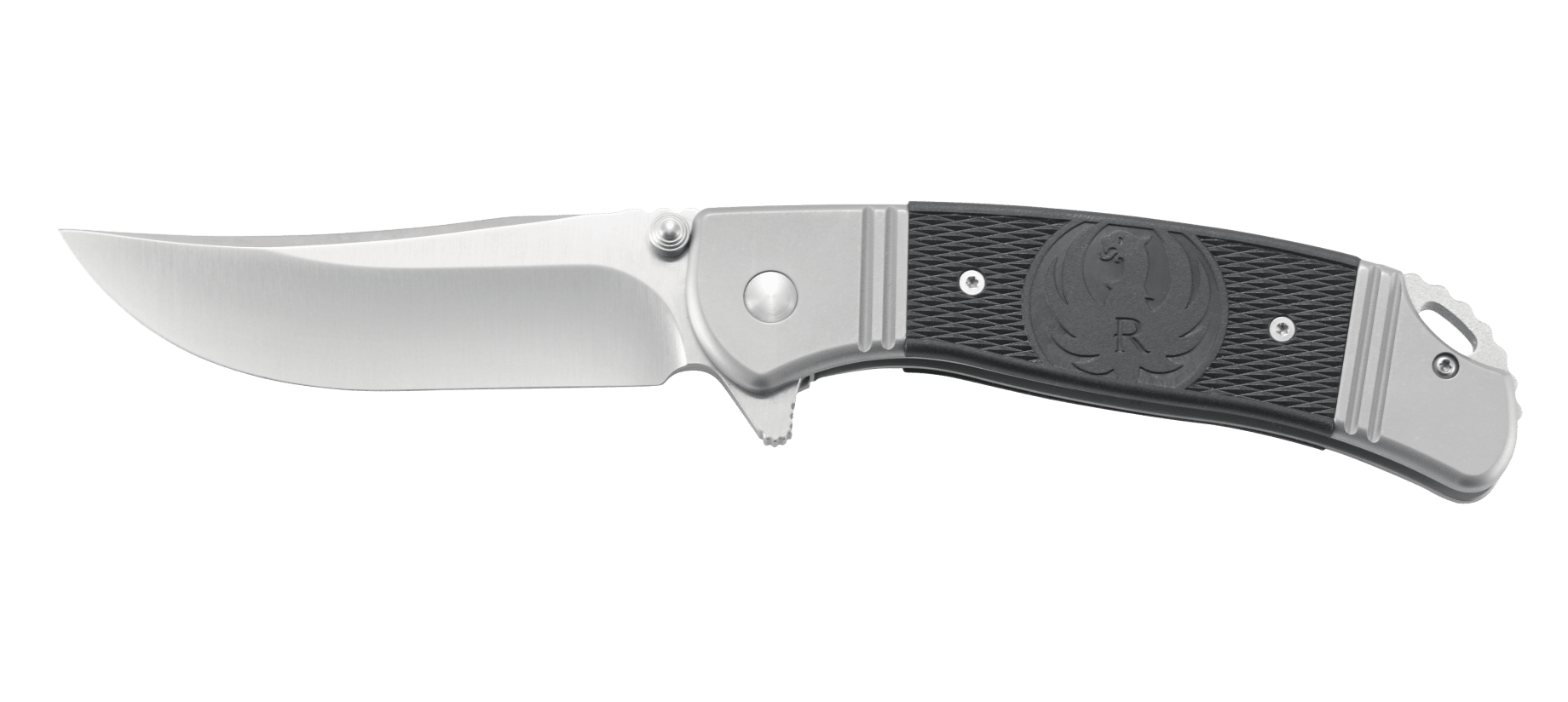 Фото 17 - Складной нож CRKT R2301 Ruger® Knives Hollow-Point™ +P, сталь 8Cr14MOV, рукоять нержавеющая сталь/термопластик