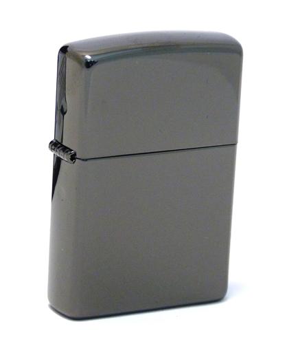цена на Зажигалка ZIPPO Classic с покрытием Ebony™, латунь/сталь, чёрная, глянцевая, 36x12x56 мм