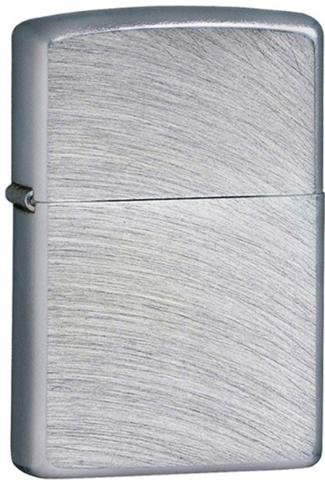 Зажигалка ZIPPO Classic с покрытием Chrome Arch, латунь/сталь, серебристая, матовая, 36x12x56 мм. Вид 1