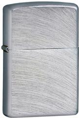 Зажигалка ZIPPO Classic с покрытием Chrome Arch, латунь/сталь, серебристая, матовая, 36x12x56 мм, фото 1