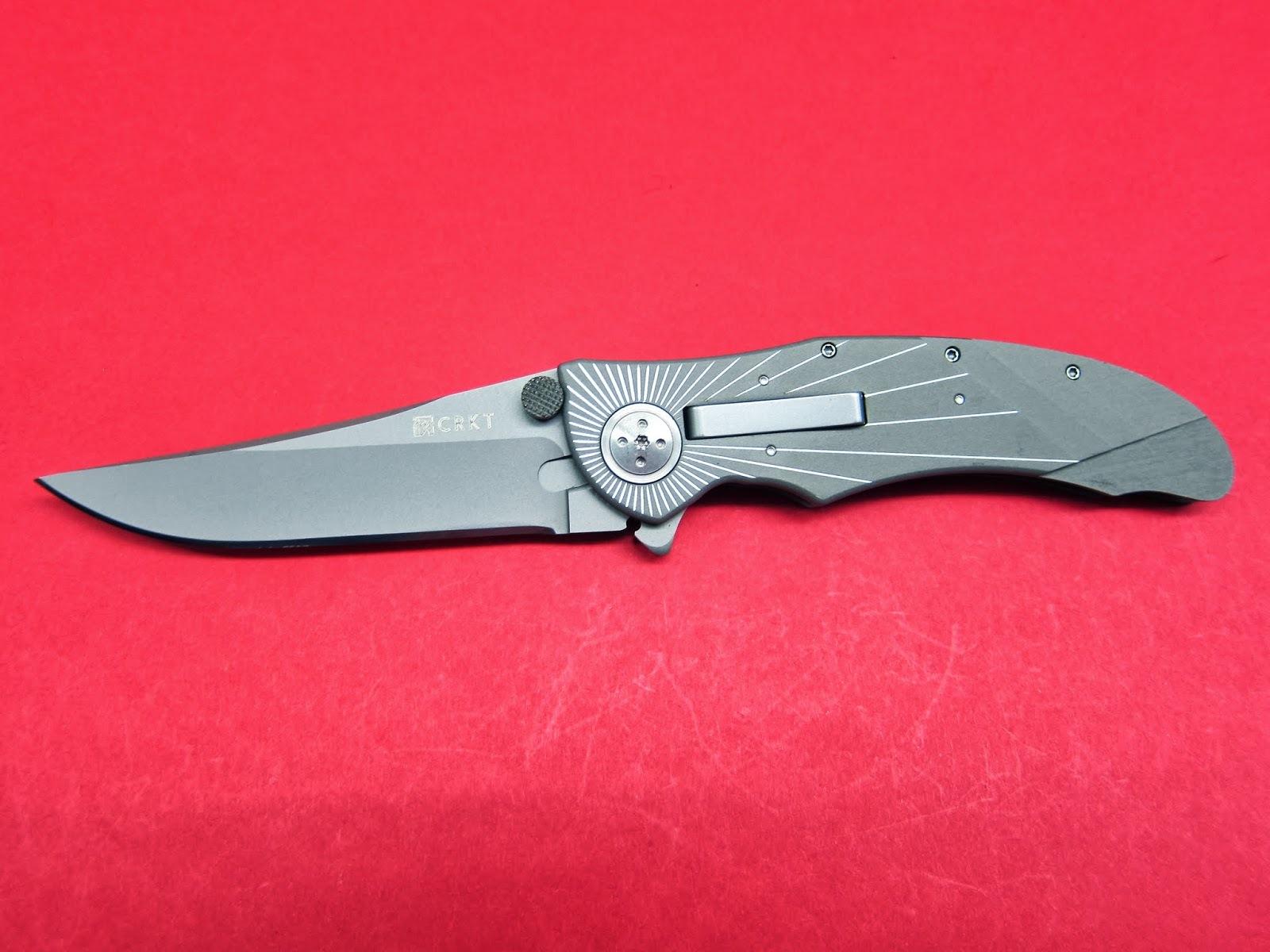 Фото 8 - Складной нож CRKT Elishewitz E-Lock Starlight, сталь AUS-8, рукоять алюминий