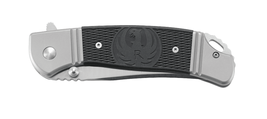 Фото 19 - Складной нож CRKT R2301 Ruger® Knives Hollow-Point™ +P, сталь 8Cr14MOV, рукоять нержавеющая сталь/термопластик
