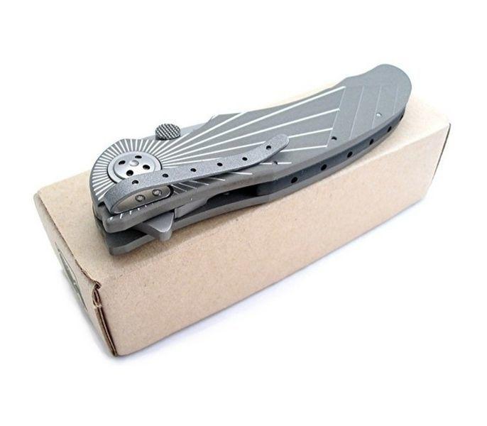 Фото 5 - Складной нож CRKT Elishewitz E-Lock Starlight, сталь AUS-8, рукоять алюминий