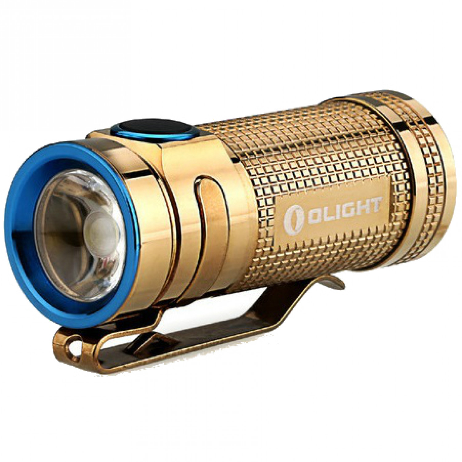 Фонарь Olight S Mini CU Raw Brass латунь