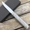 Складной нож Ziebr Silver, сталь ZDP-189 - Nozhikov.ru