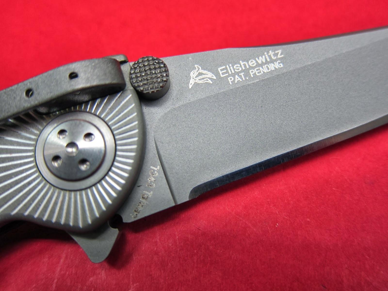 Фото 9 - Складной нож CRKT Elishewitz E-Lock Starlight, сталь AUS-8, рукоять алюминий