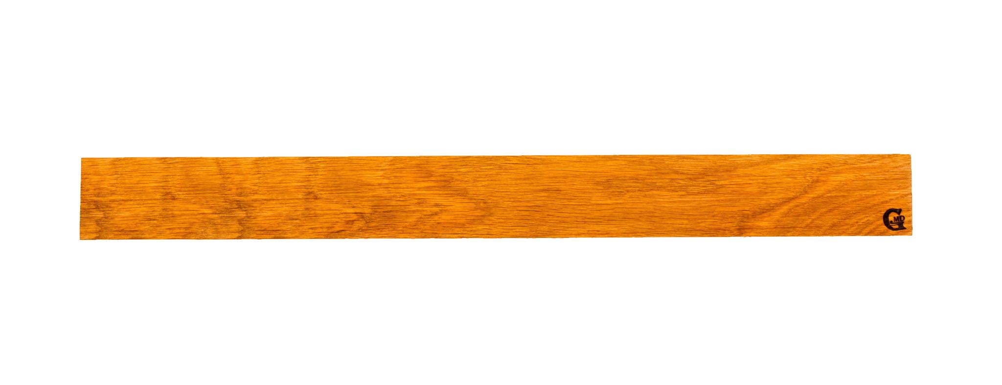 Магнитный держатель для ножей 37 см, дуб