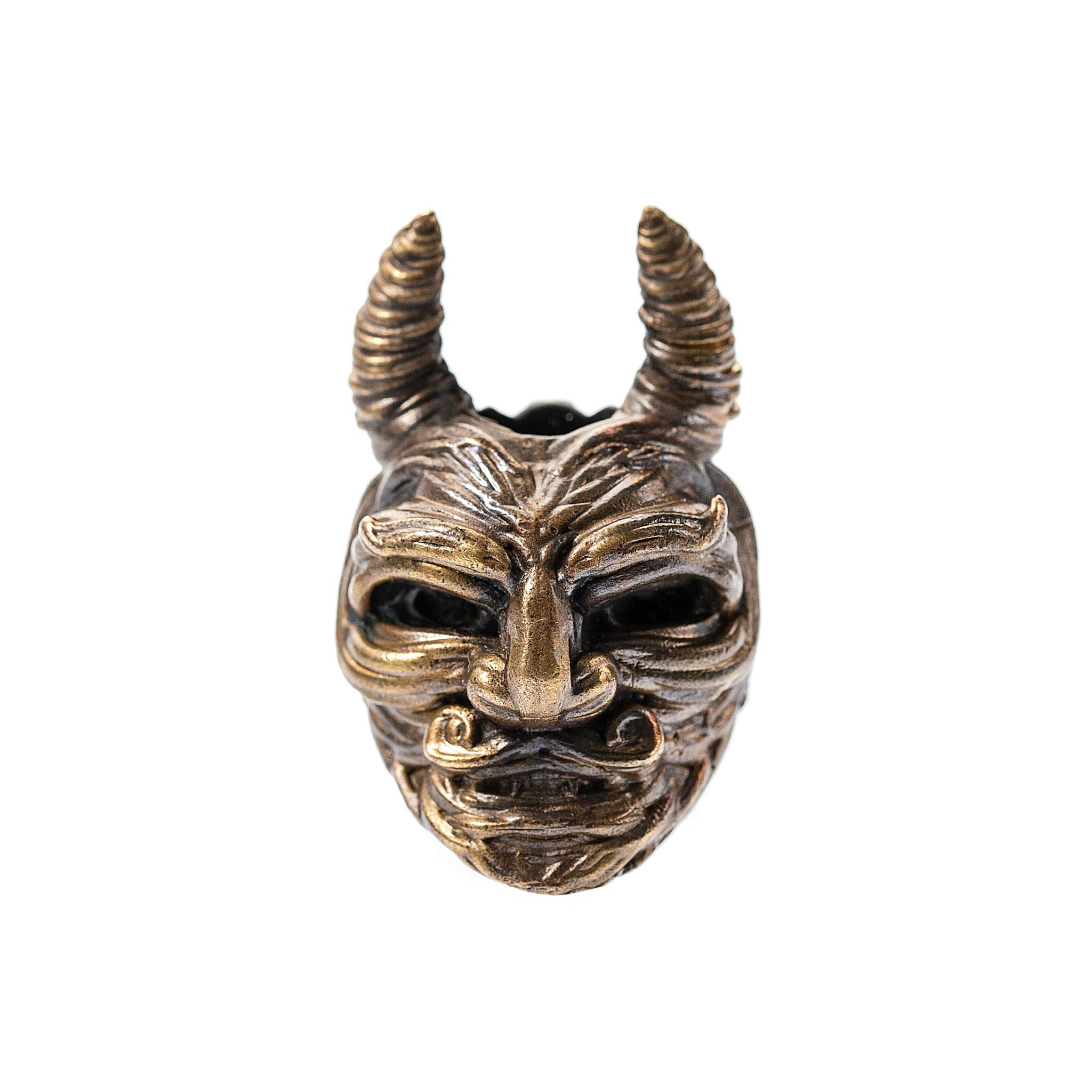 Бусина для темляка Демон бусина для темляка skull