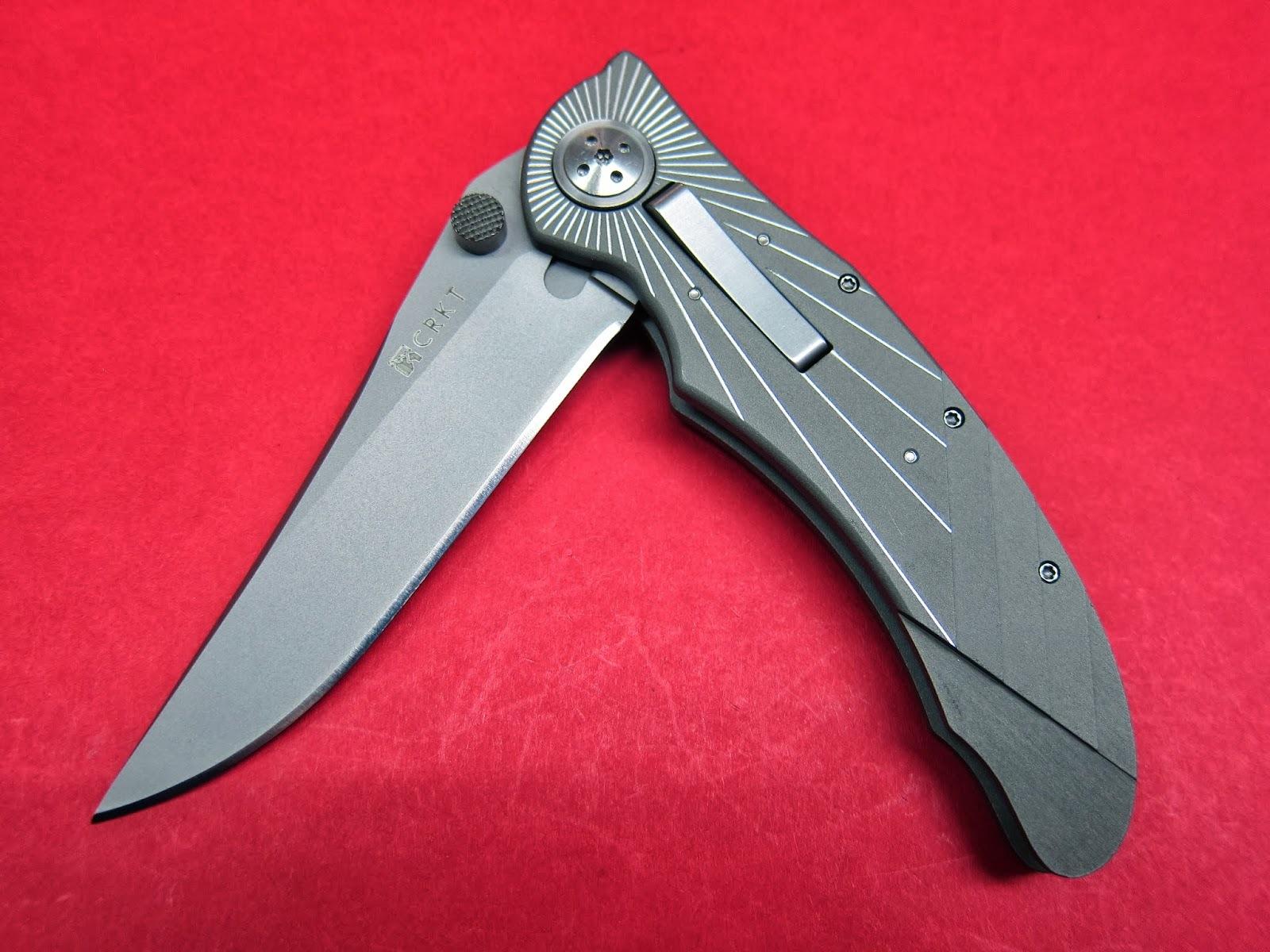 Фото 10 - Складной нож CRKT Elishewitz E-Lock Starlight, сталь AUS-8, рукоять алюминий