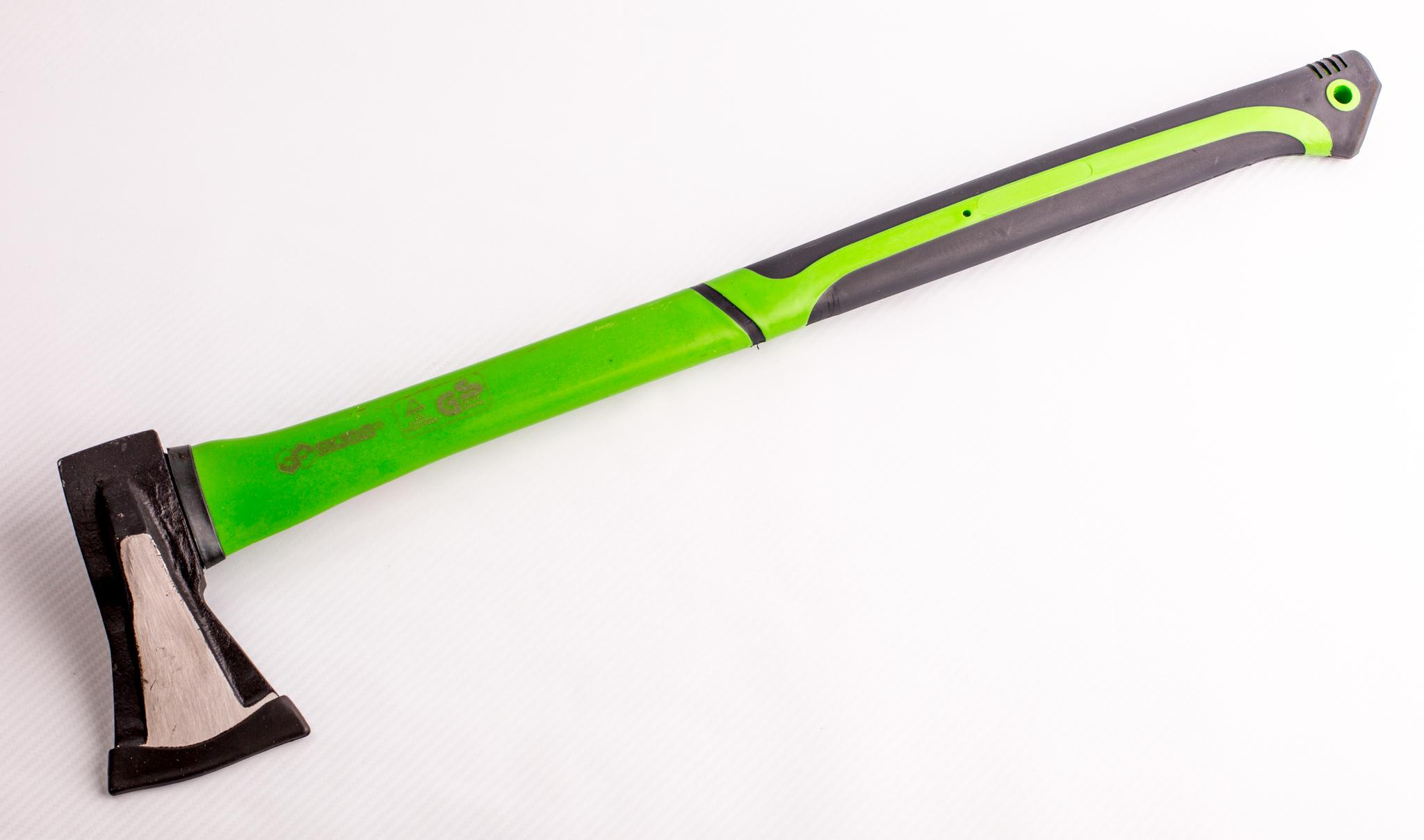 Фото 8 - Топор-колун с удлиненной фиберглассовой ручкой, 1000гр. от Noname