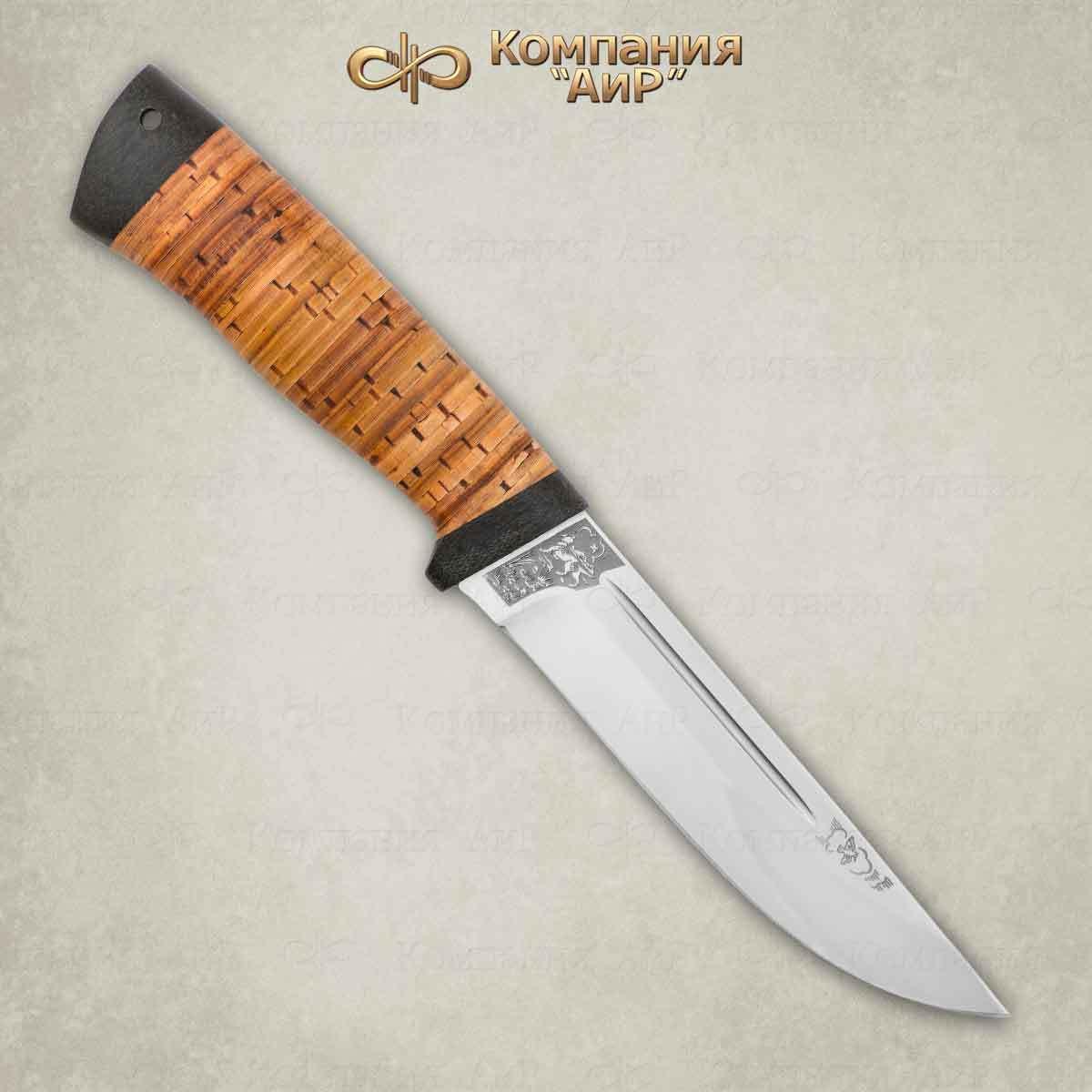 Нож Бекас, 100х13м, береста, АиР