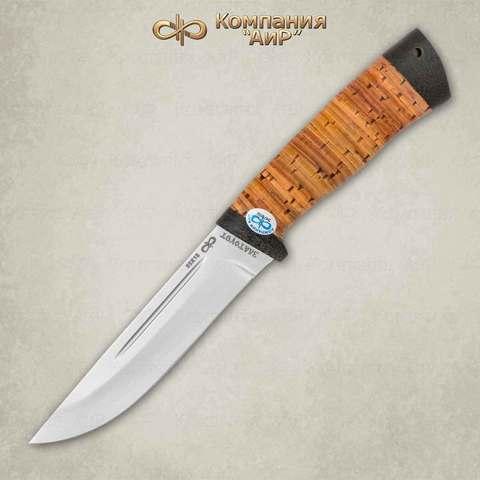 Нож Бекас, 100х13м, береста, АиР. Вид 2
