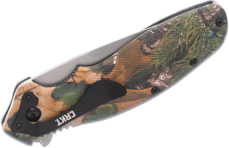 Фото 9 - Складной нож CRKT Shenanigan™ Camo Realtree™ Xtra® Camouflage, сталь AUS-8, рукоять термопластик GRN