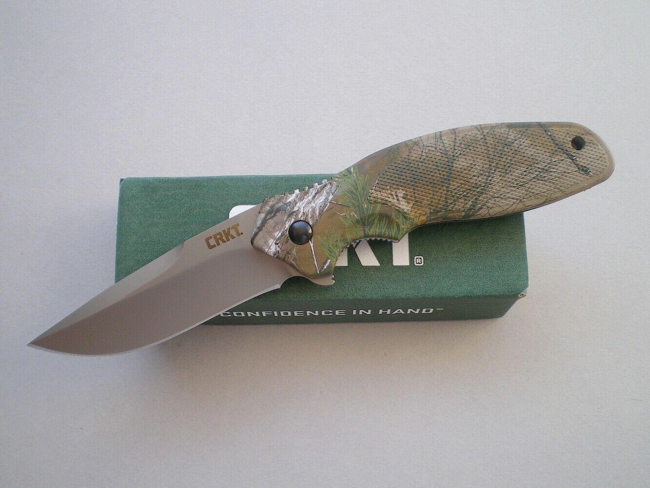 Фото 10 - Складной нож CRKT Shenanigan™ Camo Realtree™ Xtra® Camouflage, сталь AUS-8, рукоять термопластик GRN