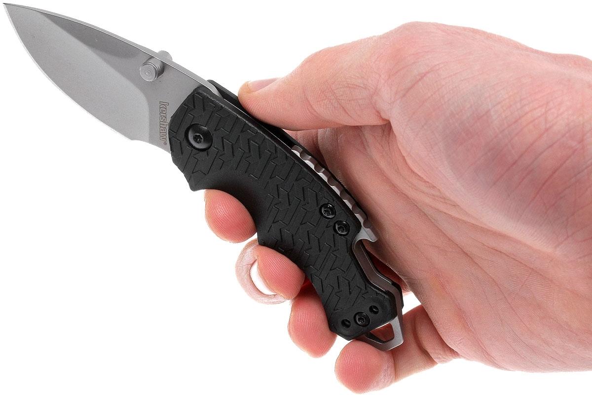 Фото 12 - Нож складной Shuffle - KERSHAW 8700, сталь 8Cr13MoV, рукоять текстурированный термопластик GFN