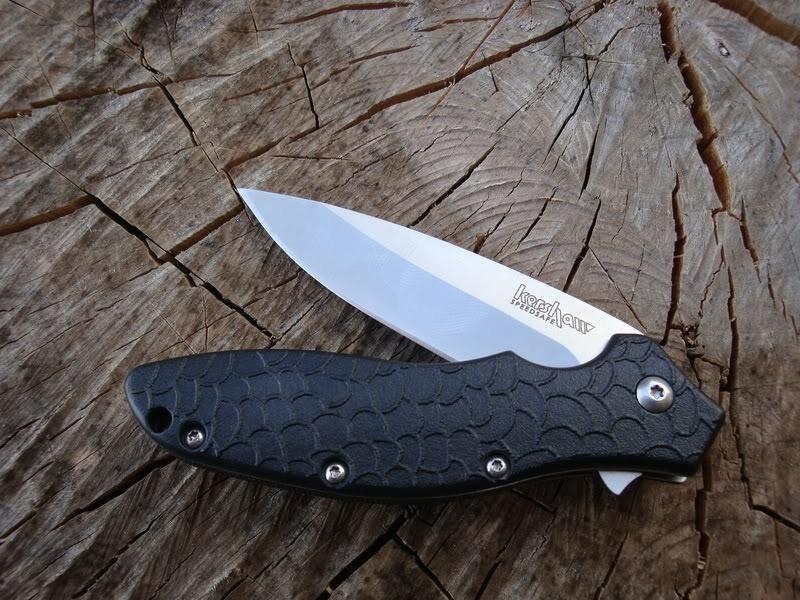 Фото 5 - Нож складной Oso Sweet - KERSHAW 1830, сталь 8Cr13MoV, рукоять термопластик GFN