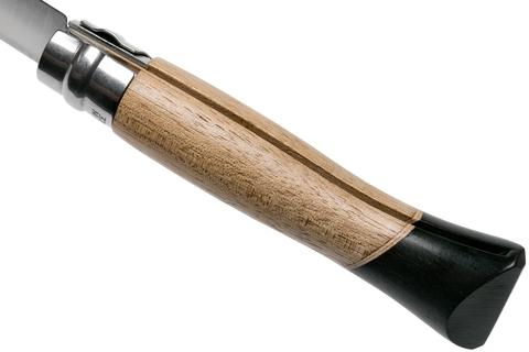Нож складной Opinel N°06 Atelier Series 2018 Limited Edition, сталь Sandvik 12C27, рукоять орех/африканское дерево/клён, 002174. Вид 9