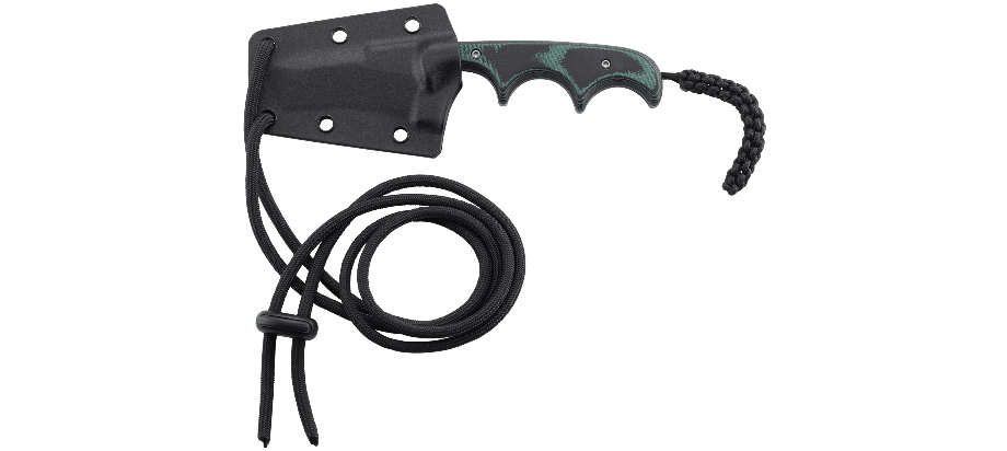 Фото 7 - Нож с фиксированным клинком CRKT Minimalist Tanto, сталь 5Cr15MoV, рукоять микарта