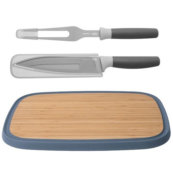 Набор для нарезки мяса Leo BergHOFF, 3 предмета, 3950195, сталь X30Cr13, полипропилен