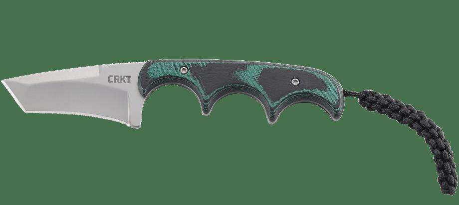 Фото 12 - Нож с фиксированным клинком CRKT Minimalist Tanto, сталь 5Cr15MoV, рукоять микарта