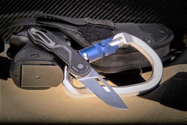 Фото 8 - Складной нож Extrema Ratio BF0 CD Stone Washed, сталь Bhler N690, рукоять нейлон