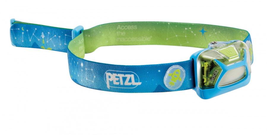 Фонарь светодиодный налобный Petzl Lamp Tikkid голубой, 20 лм