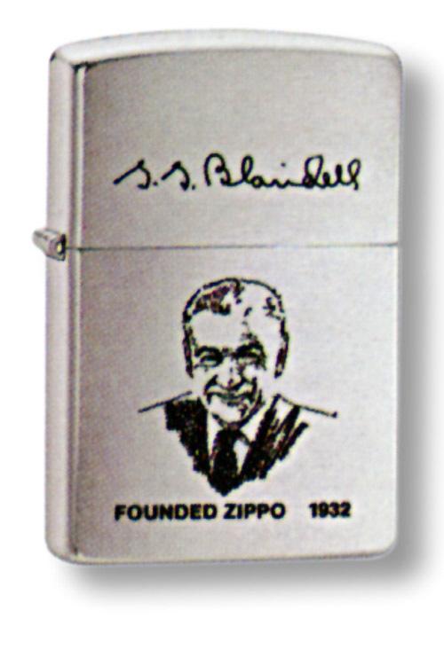 Зажигалка ZIPPO Founder's ligh Brushed Chrome, латунь с ник.-хром. покрыт., сереб., матовая, 36х56х12мм