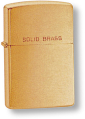 Зажигалка ZIPPO Brushed Brass, латунь, золотистый, матовая, 36х56х12 мм