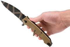 Складной нож Extrema Ratio MF2 Desert Warfare, сталь Böhler N690, рукоять алюминий, фото 3