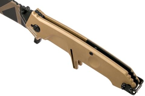 Складной нож Extrema Ratio MF2 Desert Warfare, сталь Böhler N690, рукоять алюминий. Вид 4