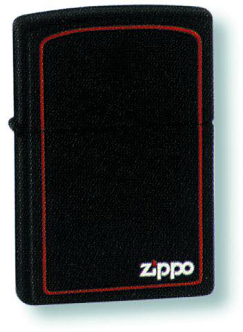 Зажигалка ZIPPO Classic с покрытием Black Matte, латунь/сталь, чёрная с лого, матовая, 36x12x56 мм зажигалка zippo classic с покрытием black crackle™ латунь сталь чёрная матовая 36x12x56 мм
