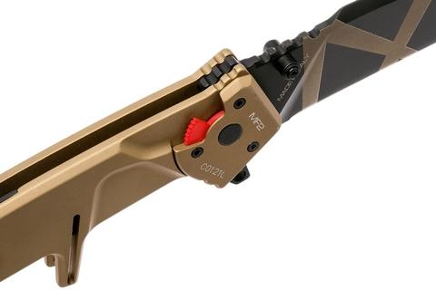 Складной нож Extrema Ratio MF2 Desert Warfare, сталь Böhler N690, рукоять алюминий. Вид 5