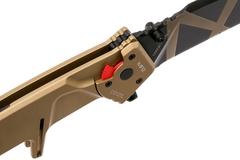 Складной нож Extrema Ratio MF2 Desert Warfare, сталь Böhler N690, рукоять алюминий, фото 5