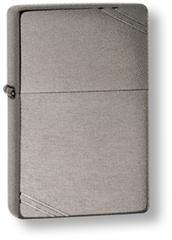 Зажигалка ZIPPO Brushed Chrome, латунь с ник.-хром.покрыт., серебр., матов., 36х56х12 мм, фото 1