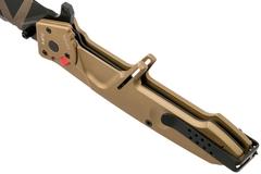 Складной нож Extrema Ratio MF2 Desert Warfare, сталь Böhler N690, рукоять алюминий, фото 6
