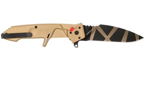 Складной нож Extrema Ratio MF2 Desert Warfare, сталь Böhler N690, рукоять алюминий. Вид 9
