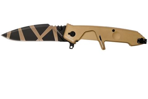 Складной нож Extrema Ratio MF2 Desert Warfare, сталь Böhler N690, рукоять алюминий. Вид 10