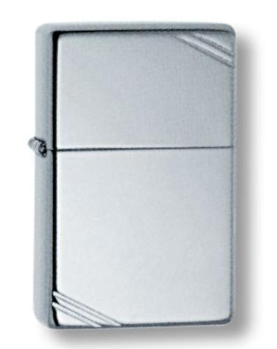 Зажигалка ZIPPO High Polish Chrome, латунь, ник.-хром.покр., серебр., глянц., 36х56х12мм