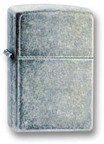 Зажигалка ZIPPO Antique Silver Plate, латунь с покрытием ™Plate, серебристый, матовая, 36х12x56 мм