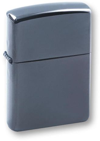Фото 3 - Зажигалка ZIPPO Classic, покрытие Black Ice, латунь/сталь, черная, глянцевая, 36х12х56 мм