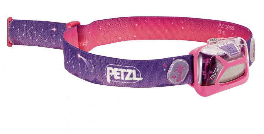 Фонарь светодиодный налобный Petzl Lamp Tikkid розовый, 20 лм