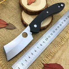 Нож складной Serge Panchenko's Roc Spyderco 177GP, сталь VG-10 Satin Plain, рукоять стеклотекстолит G10, чёрный, фото 2