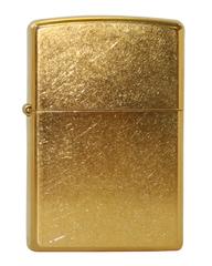Зажигалка ZIPPO Gold Dust, латунь, матовая, 36х56х12 мм