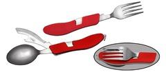 Набор вилка-ложка-нож 4 в 1, Viking Nordway