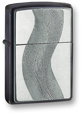 Зажигалка ZIPPO Black Ice, латунь с никеле-хромовым покрыт., серебр., глянц., 36х56х12 мм зажигалка zippo slim black ice 3 1 5 5 см