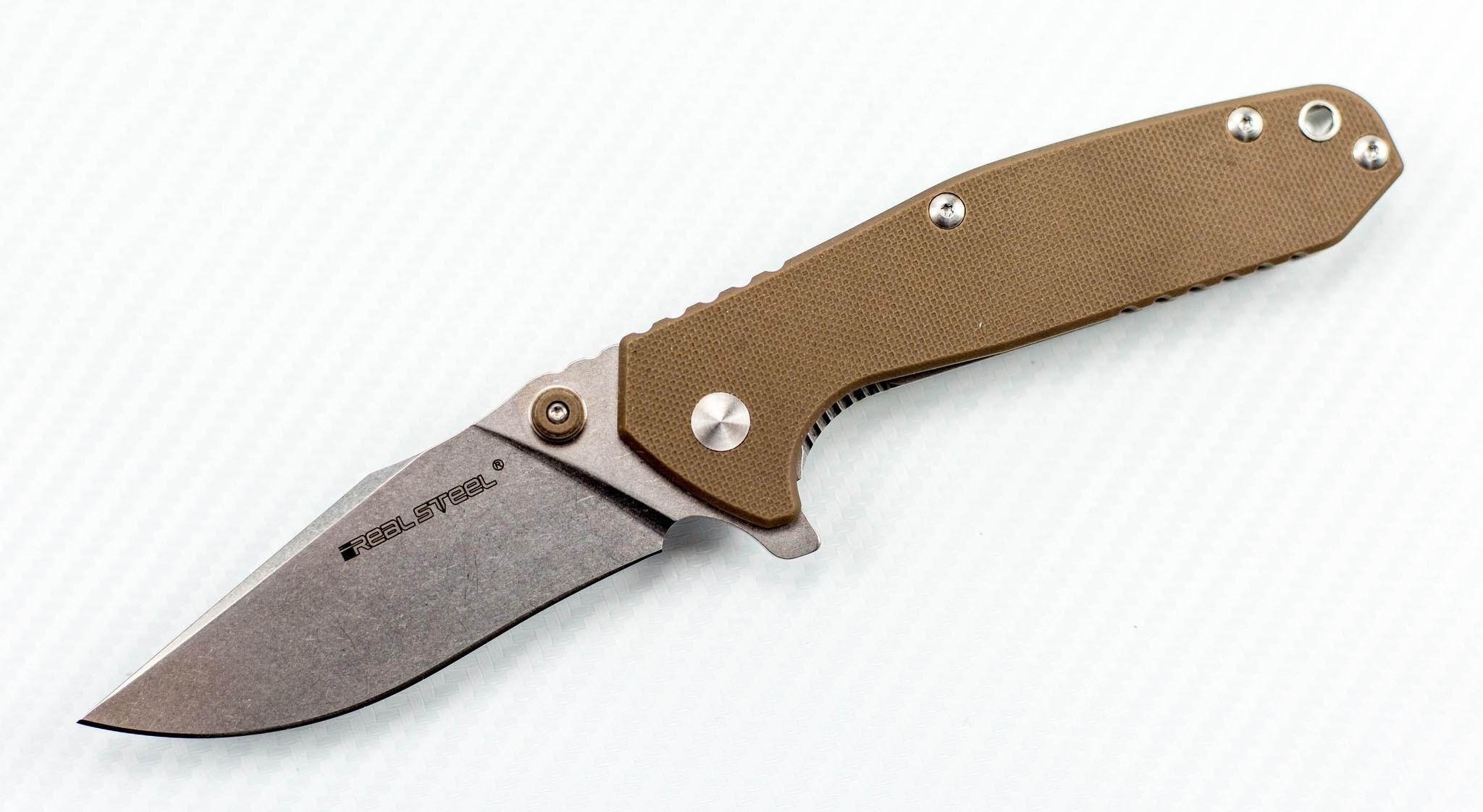 Нож H5 Gerfalcon, gray от Realsteel
