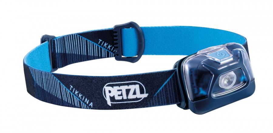 Фонарь светодиодный налобный Petzl Tikkina синий, 250 лм